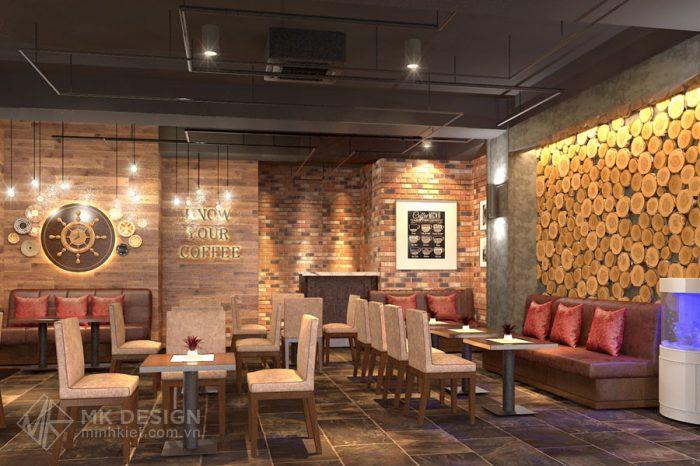 Thiết kế nhà hàng cao cấp phong cách hiện đại CoCo Fast Food - Thiết kế Minh Kiệt Cafe