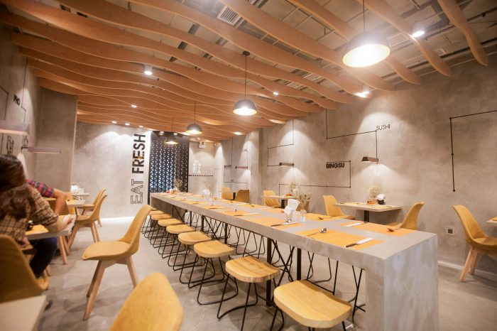 Thiết kế nhà hàng hiện đại cao cấp Mama Lee - Minh Kiệt Cafe thiết kế