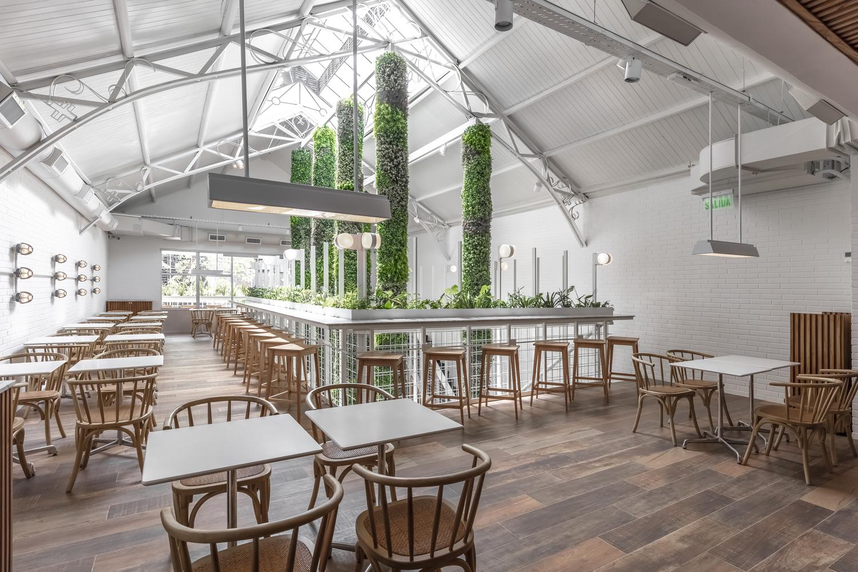 Thiết kế quán cafe Fresco phong cách hiện đại - Minh Kiệt Cafe Thiết Kế