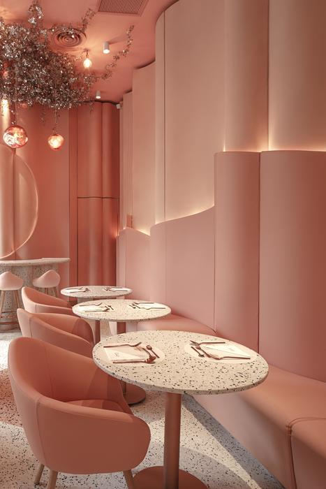 House of Eden - Quán cafe tông hồng siêu xinh - Thiết kế Minh Kiệt Cafe